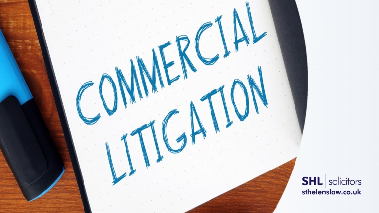 What are common commercial litigation disputes
