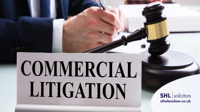 What is the difference between civil and commercial litigation