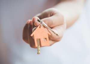 Getting keys at the end of conveyancing process